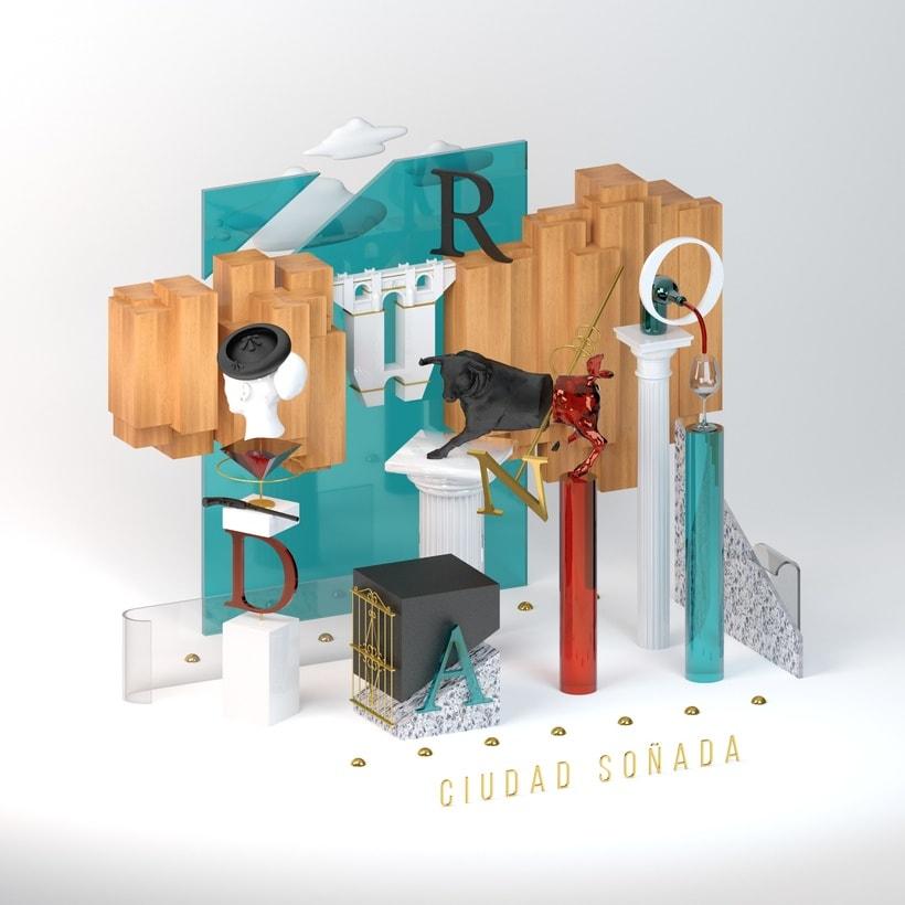 Ronda - Ciudad Soñada (Proyecto del curso: Dirección de Arte con C4D) 1