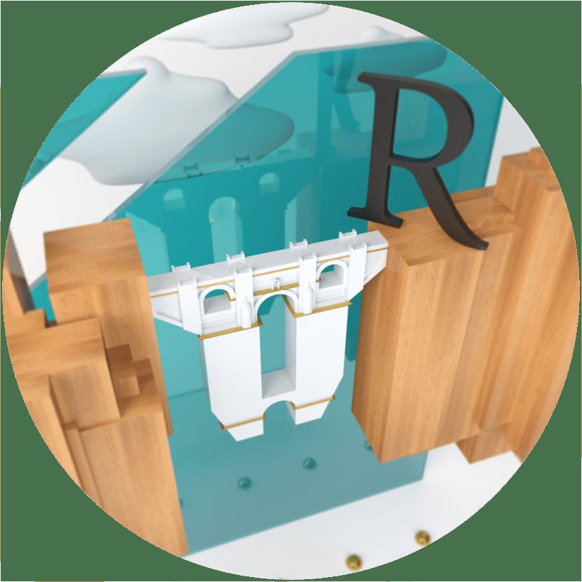 Ronda - Ciudad Soñada (Proyecto del curso: Dirección de Arte con C4D) 5