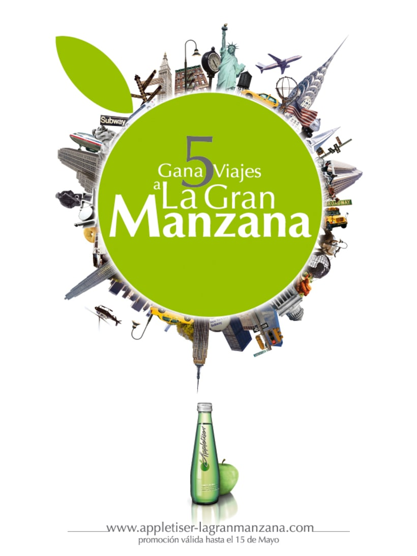 APPLETISER - VIAJA A LA GRAN MANZANA (2008) 1