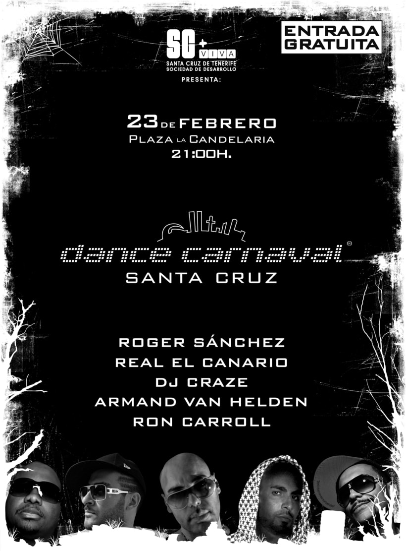 DANCE CARNAVAL SANTA CRUZ - CARNAVAL DE NOCHE (2009) 1
