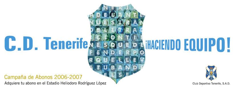 CLUB DEPORTIVO TENERIFE - ¡HACIENDO EQUIPO! CAMPAÑA DE ABONOS 06/07 3