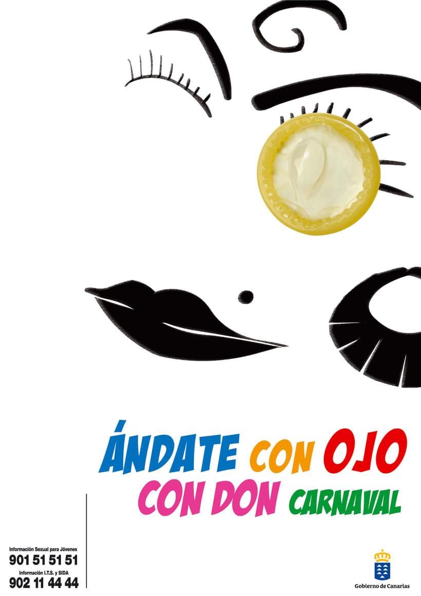 """GOBIERNO DE CANARIAS - ÁNDATE CON OJO """"CON DON CARNAVAL"""" 0"""