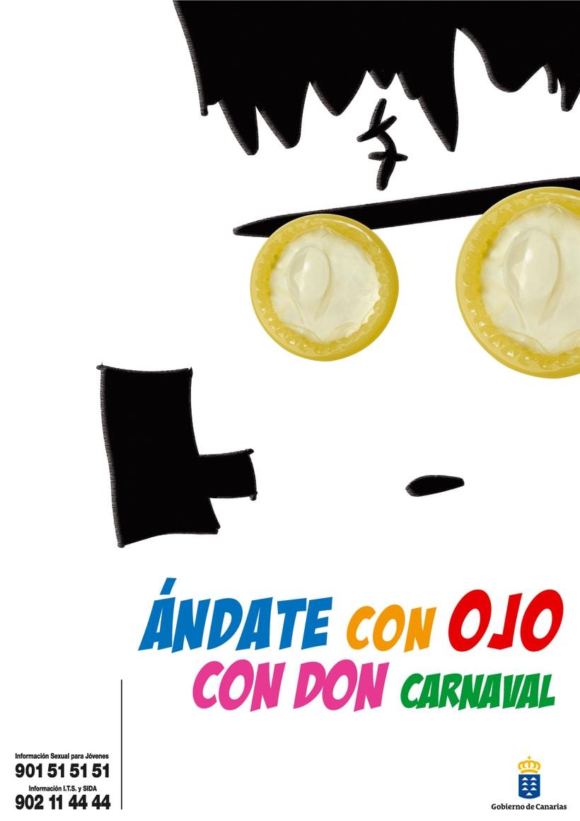 """GOBIERNO DE CANARIAS - ÁNDATE CON OJO """"CON DON CARNAVAL"""" 1"""