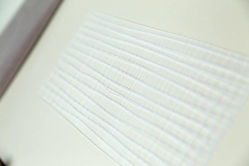 || Ruidos || Libro de artista - Opus nº 11 Sinfonía para lo cotidiano || Bordados sobre papel. 8