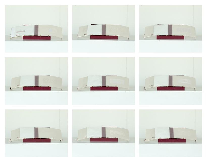 || Ruidos || Libro de artista - Opus nº 11 Sinfonía para lo cotidiano || Bordados sobre papel. 13