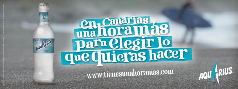 AQUARIUS - COCACOLA COMPANY - UNA HORA MÁS DE FELICIDAD 0