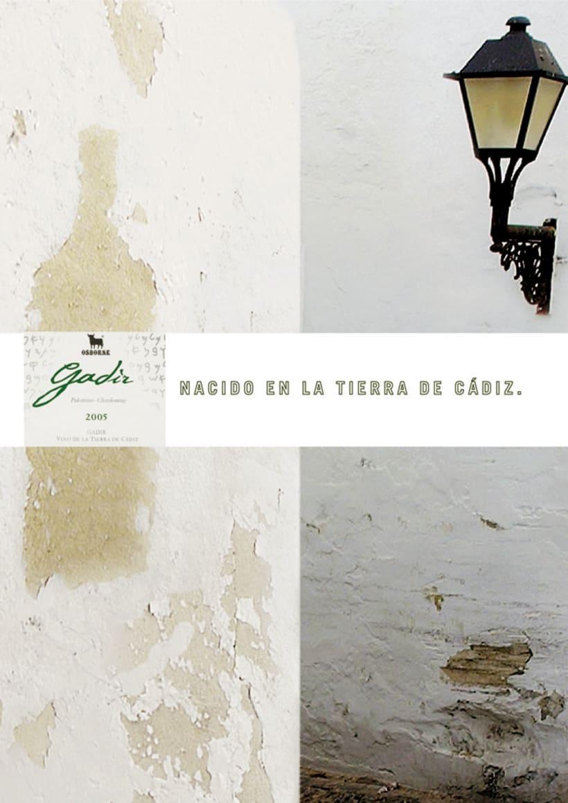 OSBORNE - GADIR - NACIDO EN LA TIERRA DE CADIZ -1