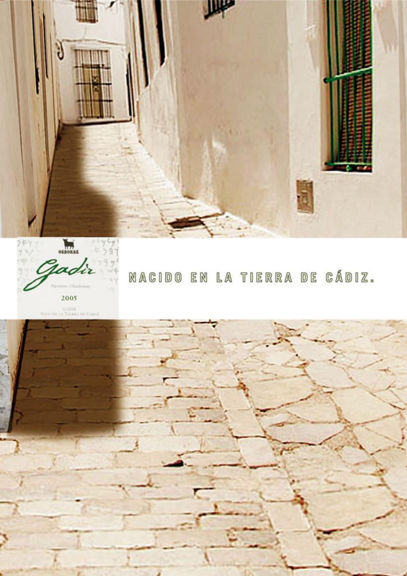 OSBORNE - GADIR - NACIDO EN LA TIERRA DE CADIZ 0