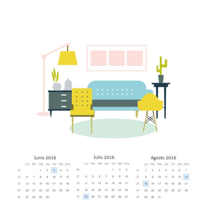 La estaciones y la decoracion. Mi Proyecto del curso: Ilustrando el tiempo 2