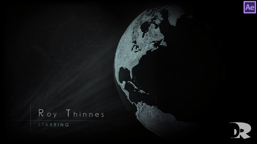 """Title sequence design - After Effects - """"Invaders"""" 3"""