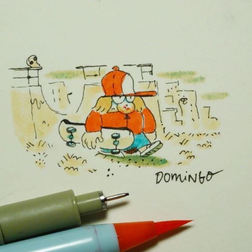 José Domingo y sus cómics de autor 13