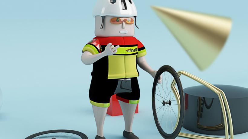 El Ciclista: nuevo integrante del Cinelli team 4
