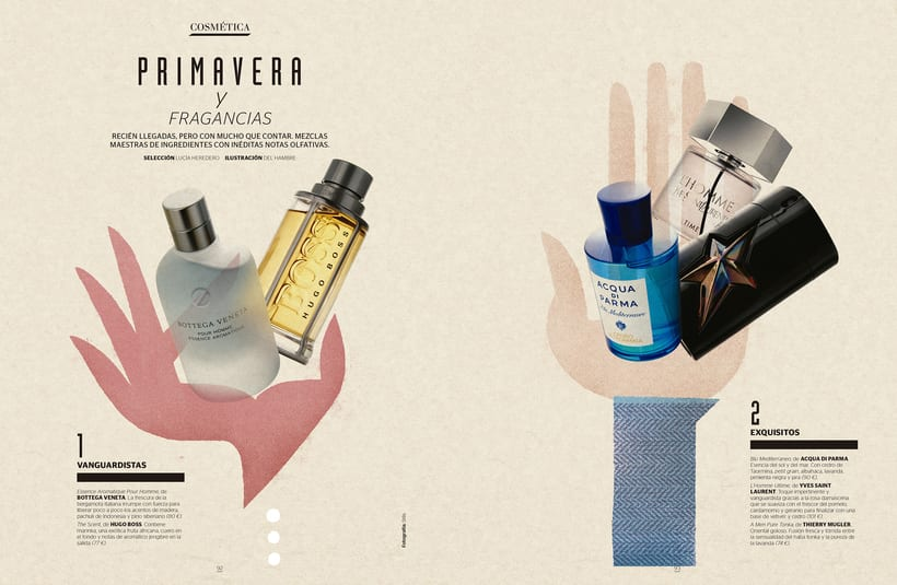 REVISTA GENTLEMAN: Shopping perfumes 6