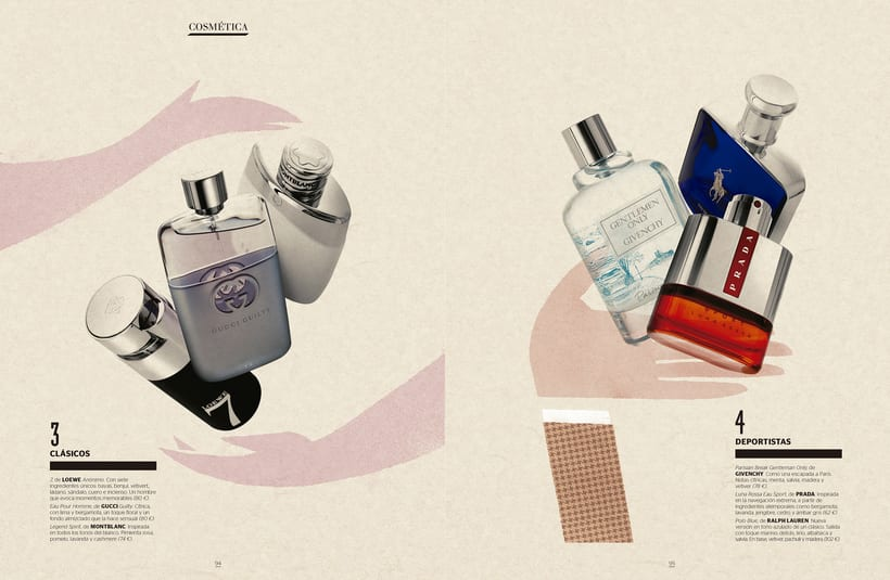REVISTA GENTLEMAN: Shopping perfumes 7