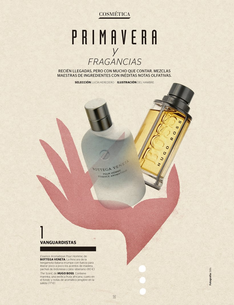 REVISTA GENTLEMAN: Shopping perfumes 1