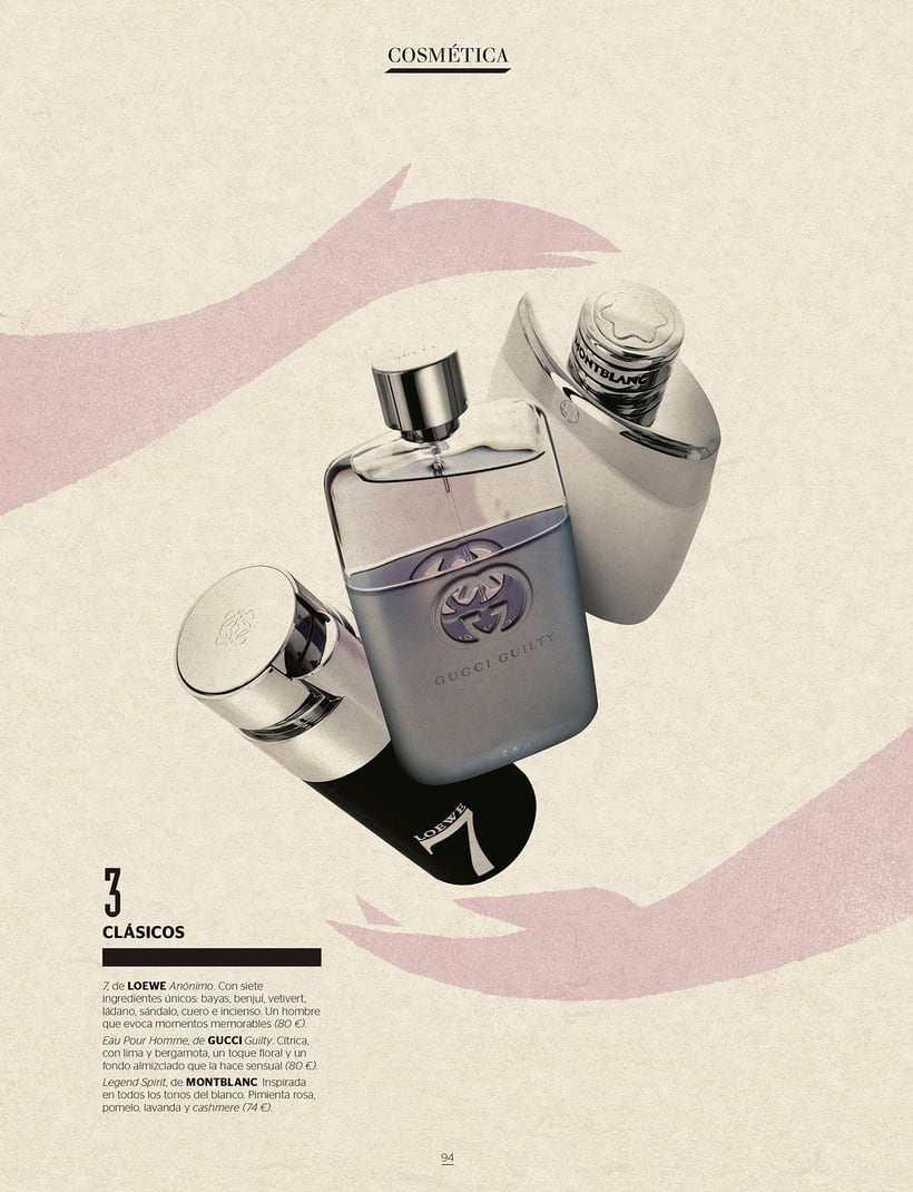 REVISTA GENTLEMAN: Shopping perfumes 3