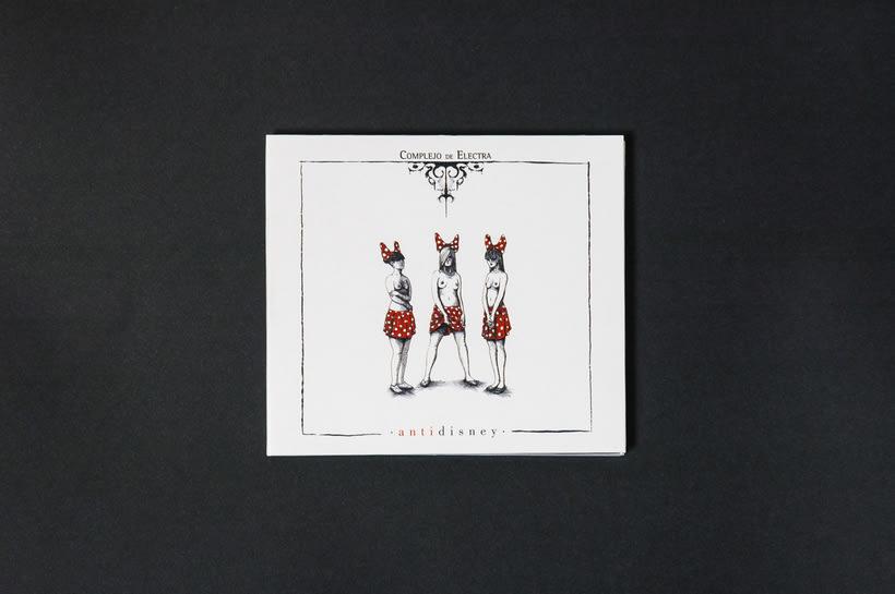 "COMPLEJO DE ELECTRA ""Antidisney"" - CD digipack 0"