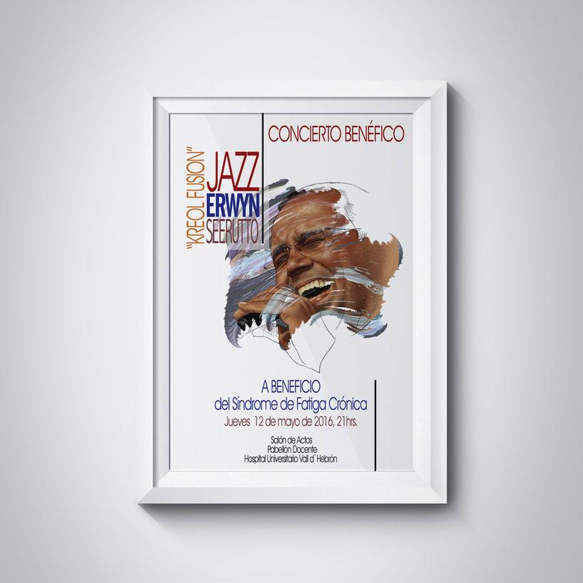 Jazz concierto benéficio para la investigación del Síndrome de Fatiga Crónica. 1