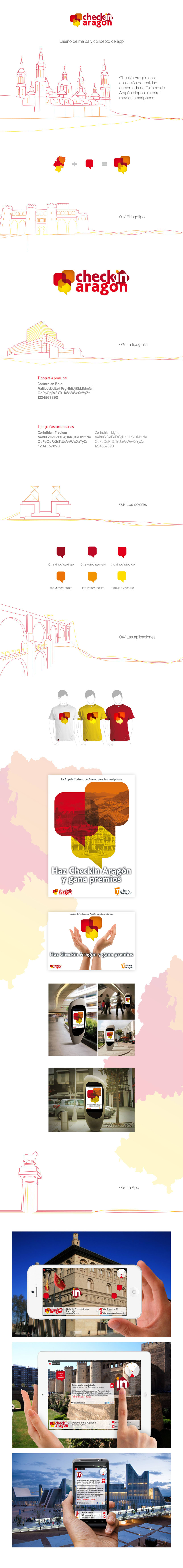 Checkin Aragón | Branding + App Concept -1