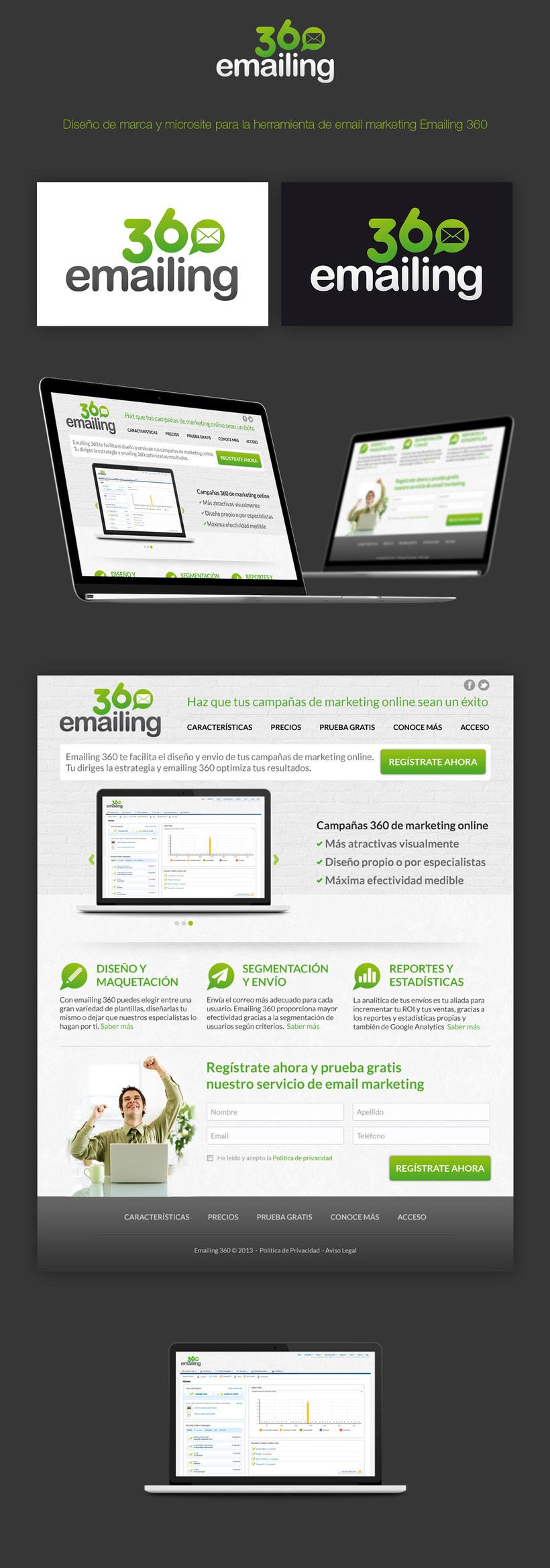 Emailing 360 | Branding + Microsite -1