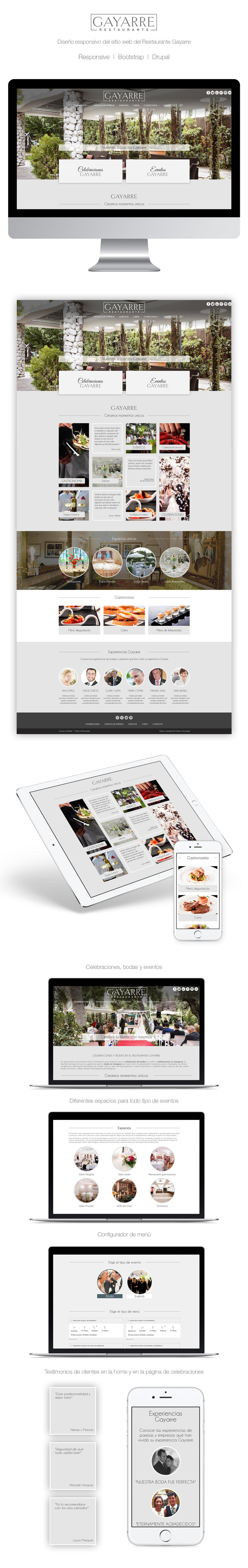 Restaurante Gayarre | Website -1