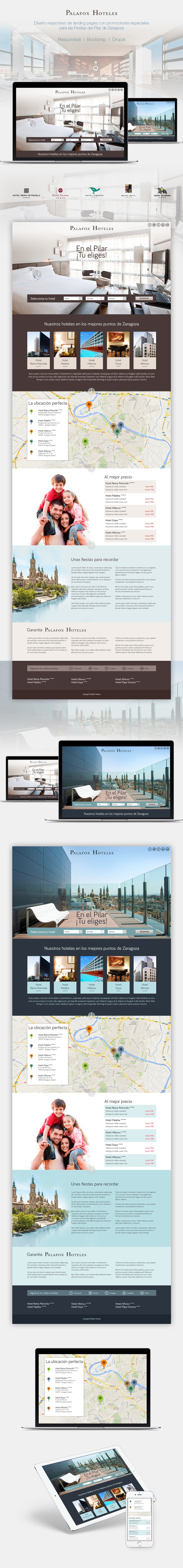 Palafox Hoteles | Landing Pages -1