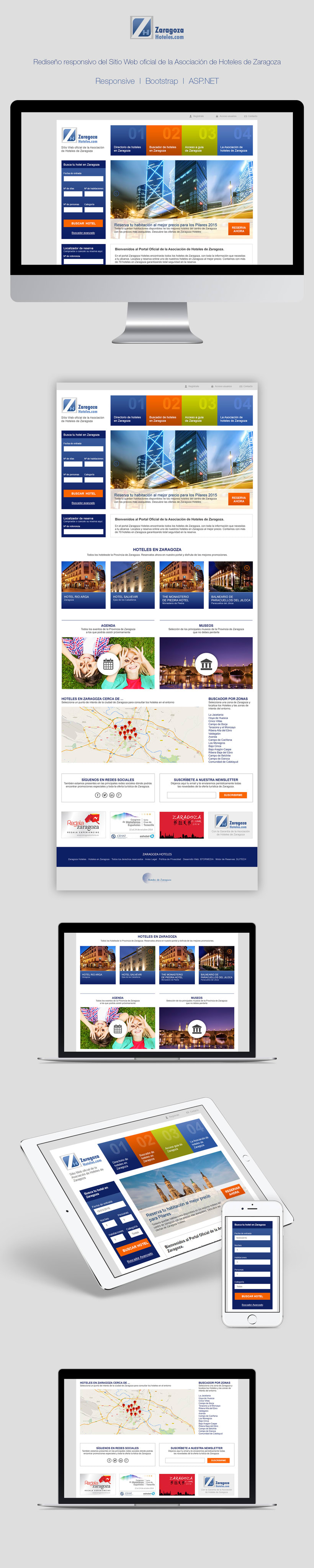 Zaragoza Hoteles | Website redesign -1