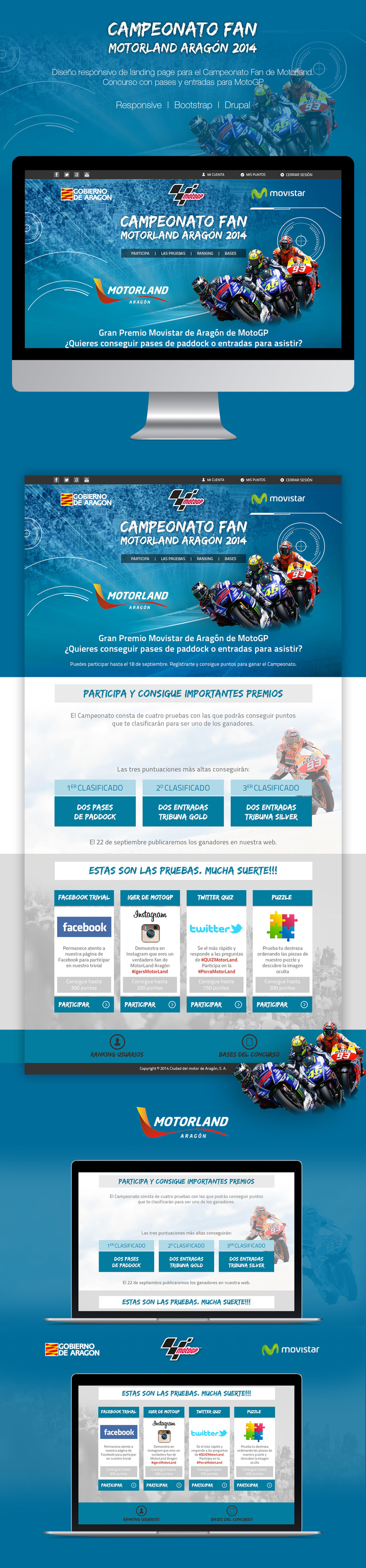 Campeonato Fan Motorland | Website -1