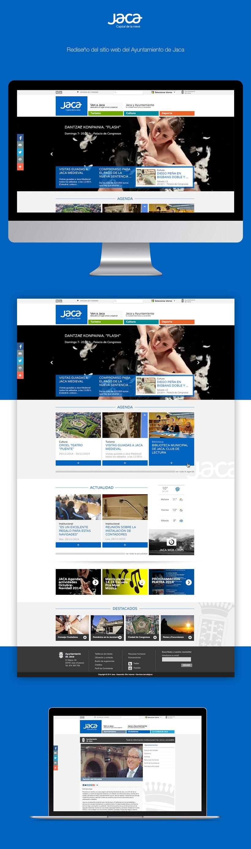 Ayuntamiento de Jaca | Website redesign -1