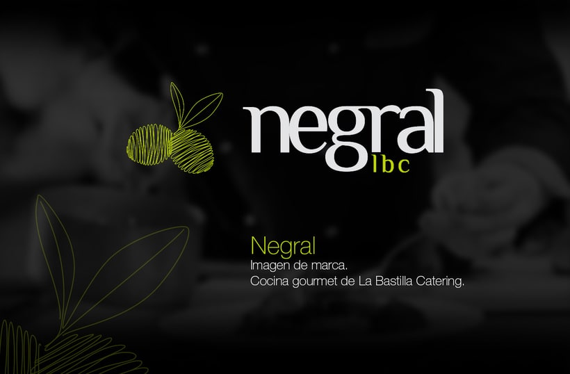 Negral. La Bastilla Catering | Branding -1