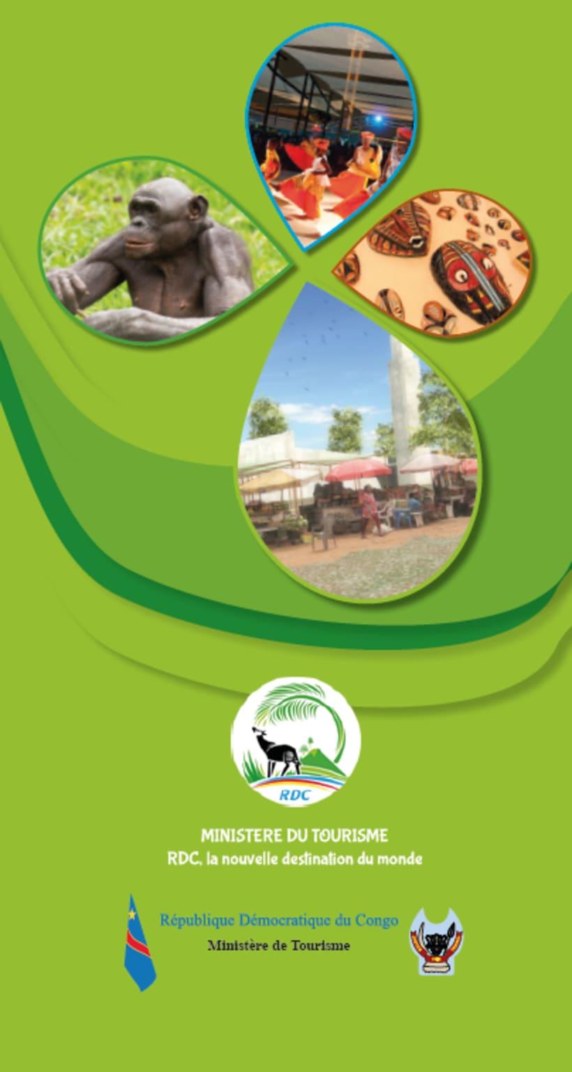 Tríptico promoción turística RDC 1