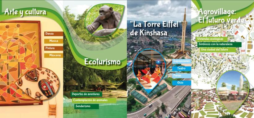 Tríptico promoción turística RDC 7