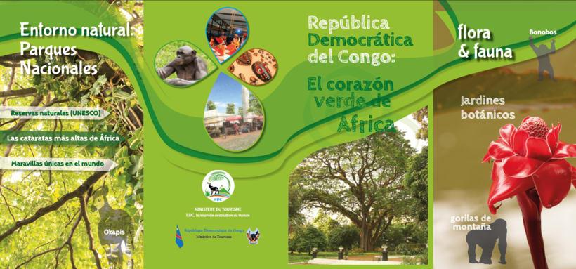 Tríptico promoción turística RDC 8