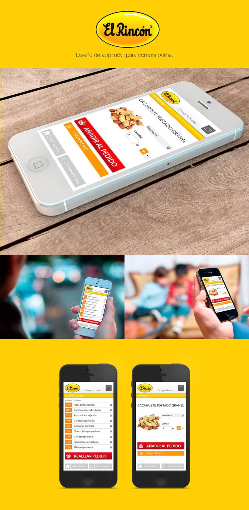 El Rincón | App -1
