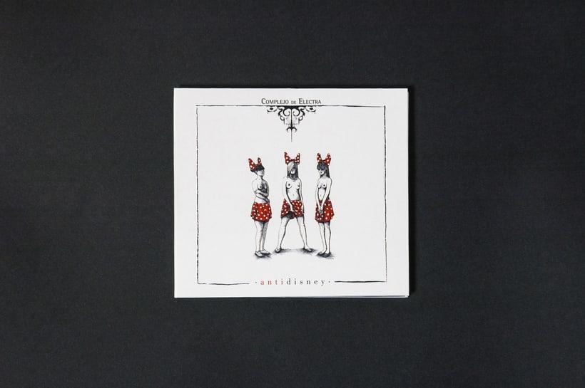 "COMPLEJO DE ELECTRA ""Antidisney"" - CD digipack 1"
