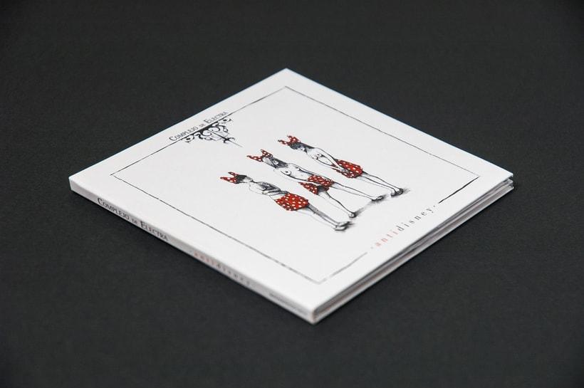 "COMPLEJO DE ELECTRA ""Antidisney"" - CD digipack 2"