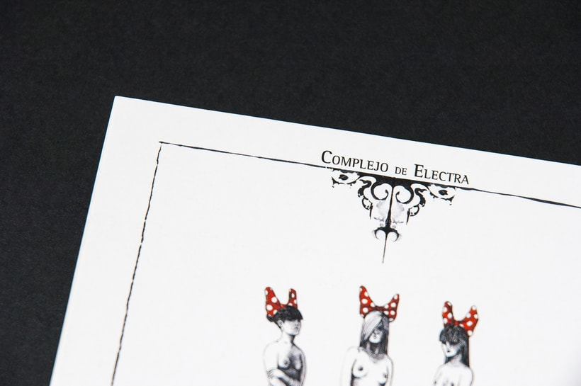 "COMPLEJO DE ELECTRA ""Antidisney"" - CD digipack 4"