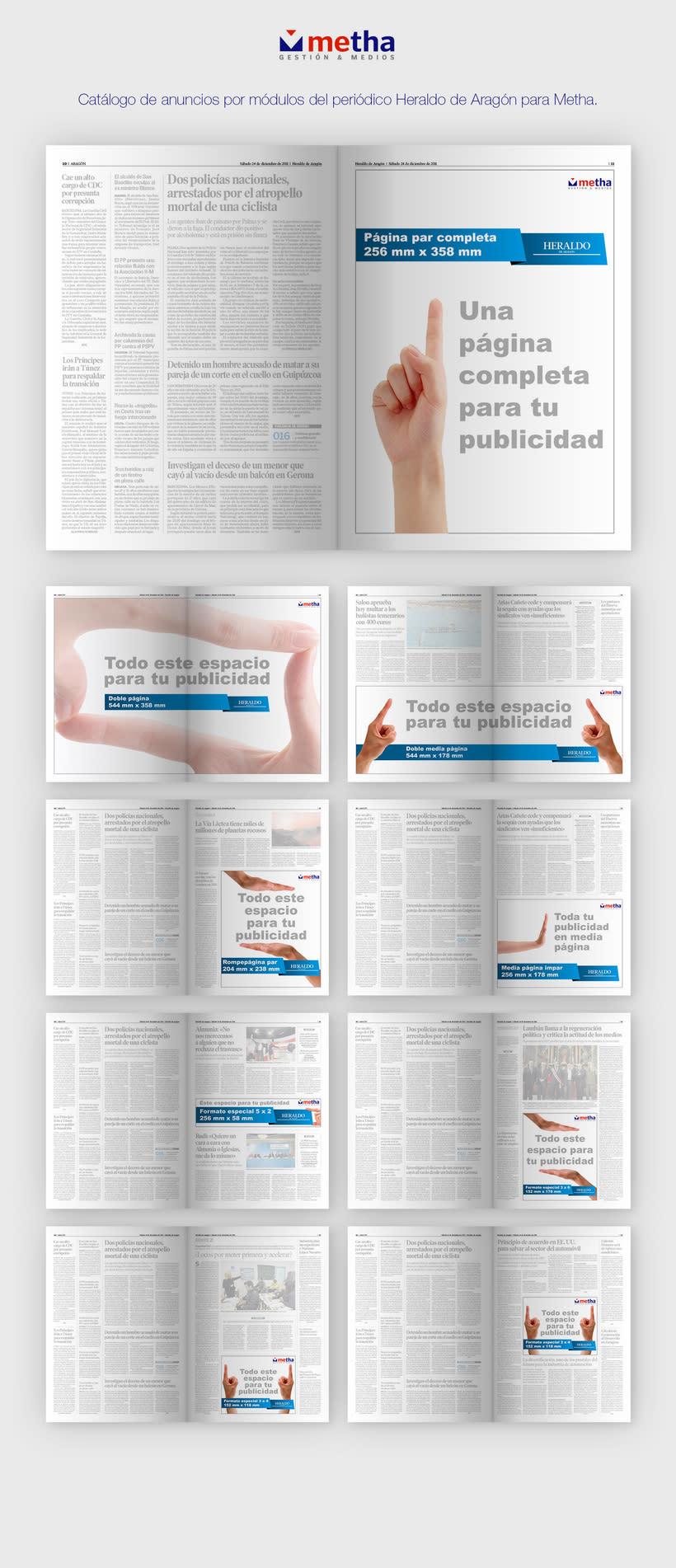 Metha | Newspaper Ads -1