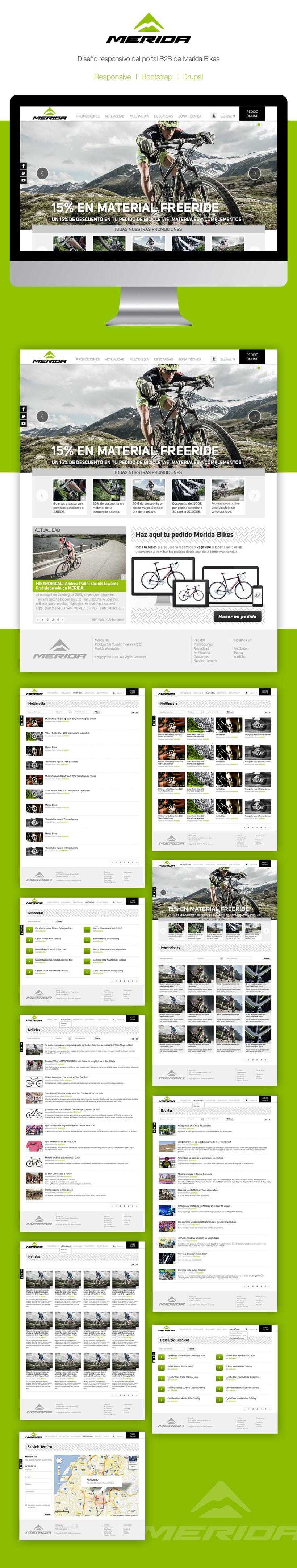 Merida Bikes | Ecommerce B2B -1