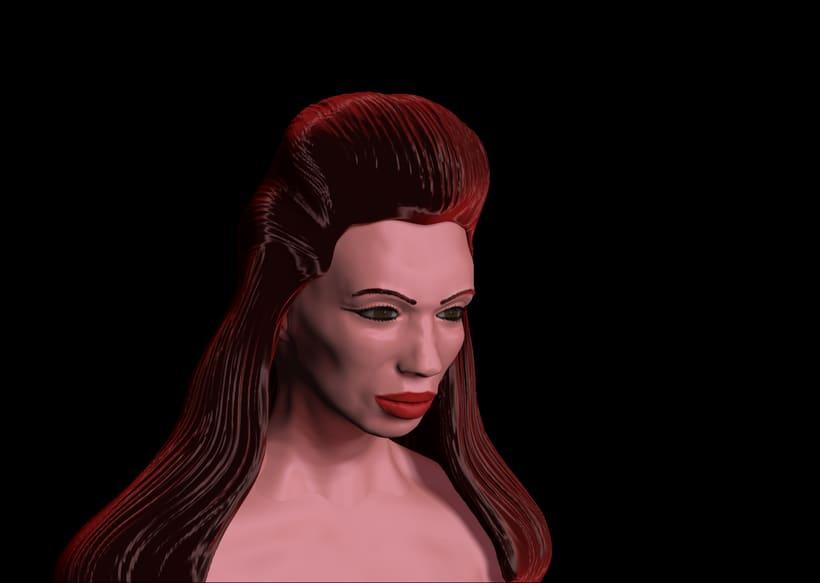 Modelado de mi mujer  -1