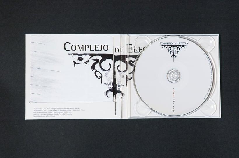 "COMPLEJO DE ELECTRA ""Antidisney"" - CD digipack 9"