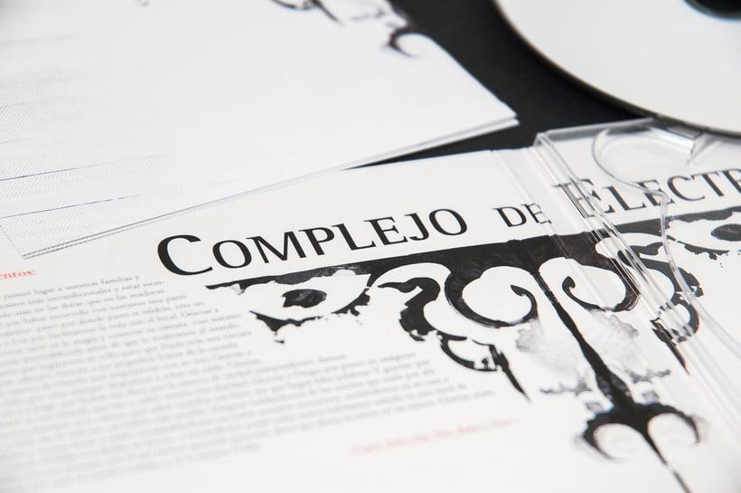 "COMPLEJO DE ELECTRA ""Antidisney"" - CD digipack 11"