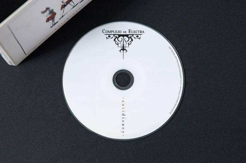 "COMPLEJO DE ELECTRA ""Antidisney"" - CD digipack 12"