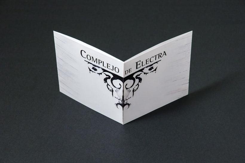 "COMPLEJO DE ELECTRA ""Antidisney"" - CD digipack 13"