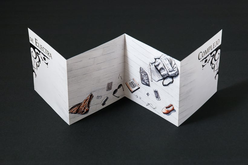 "COMPLEJO DE ELECTRA ""Antidisney"" - CD digipack 15"