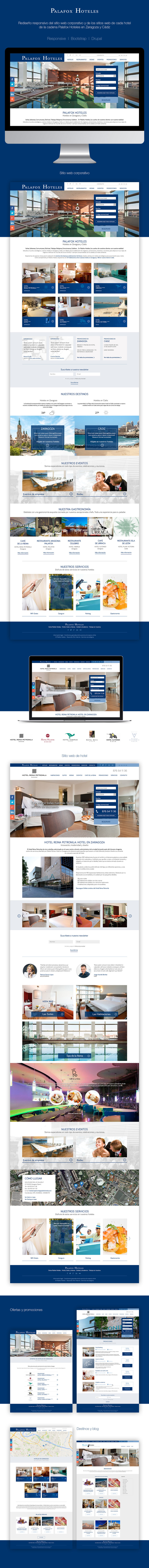 Palafox Hoteles | Websites -1
