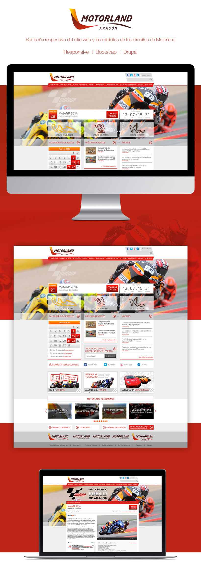 Motorland | Websites -1