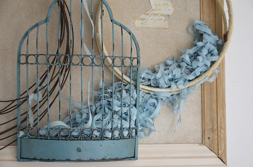 """Príncipe Azul "". Montaje Escultura Collage Arte. Poesía visual. Dreaming Art. Material antigüo. Técnica Upcycling. 0"