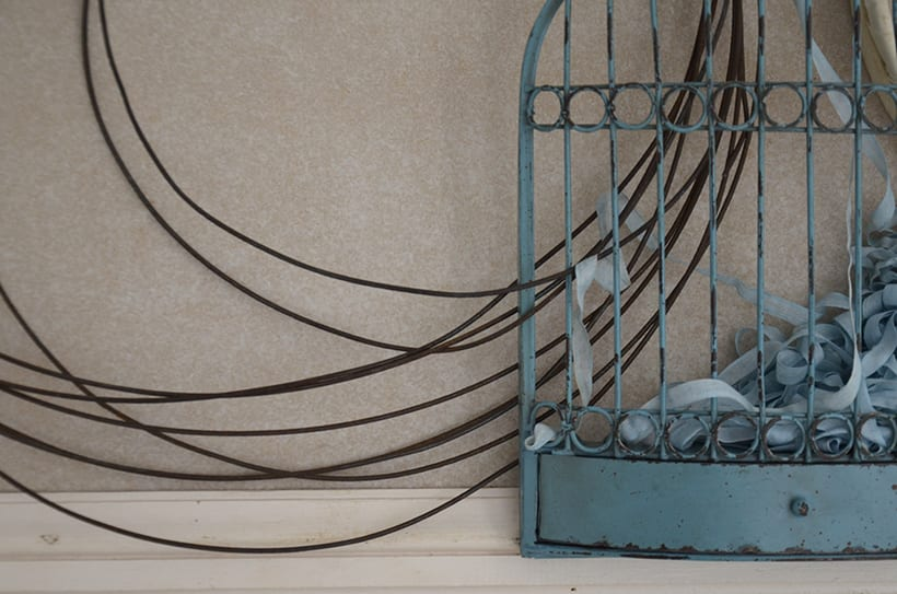 """Príncipe Azul "". Montaje Escultura Collage Arte. Poesía visual. Dreaming Art. Material antigüo. Técnica Upcycling. 3"