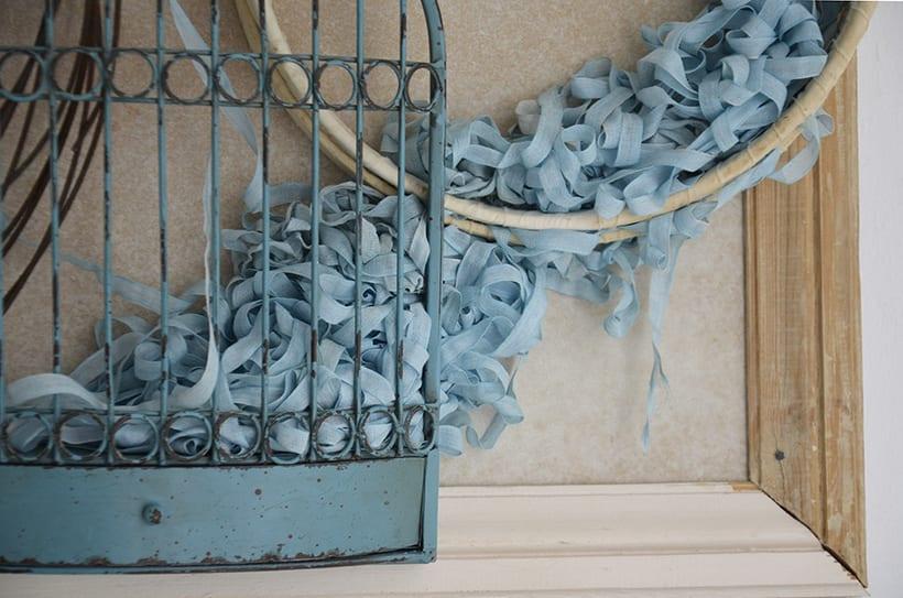 """Príncipe Azul "". Montaje Escultura Collage Arte. Poesía visual. Dreaming Art. Material antigüo. Técnica Upcycling. 4"